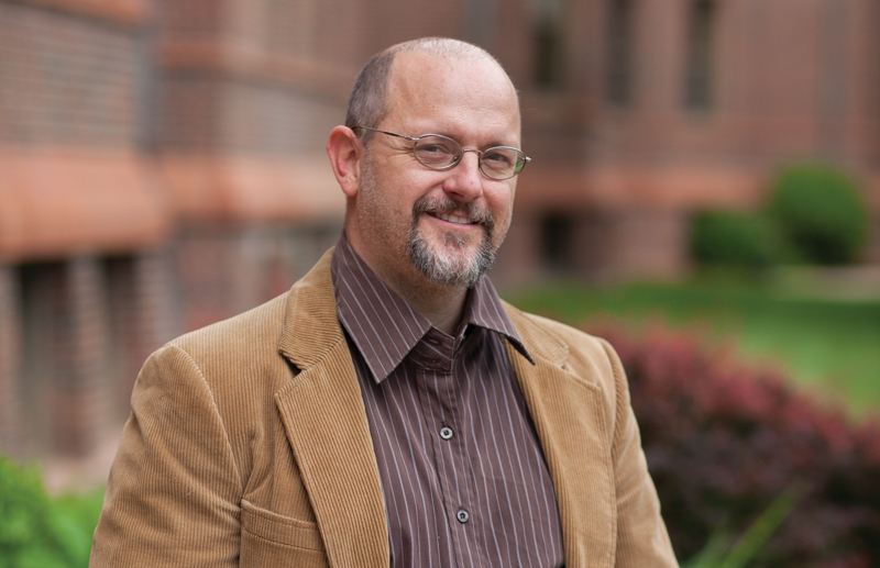 Associate Professor Alex Miller founded Shakespeare Corrected in 2011.